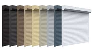Roller Shutters Colour Options
