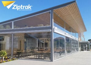 Ziptrak Clear PVC Outdoor Blind