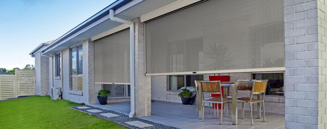 Commercial Outdoor Blinds